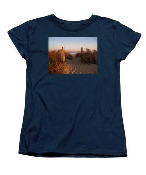Early Morning At Myrtle Beach Sc Women's T-Shirt (Standard Cut)