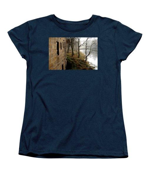 Women's T-Shirt (Standard Cut) featuring the photograph Early Morning Mist  by Paula Guttilla