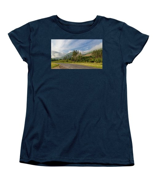 Women's T-Shirt (Standard Cut) featuring the photograph Early Morning by Sergey Simanovsky