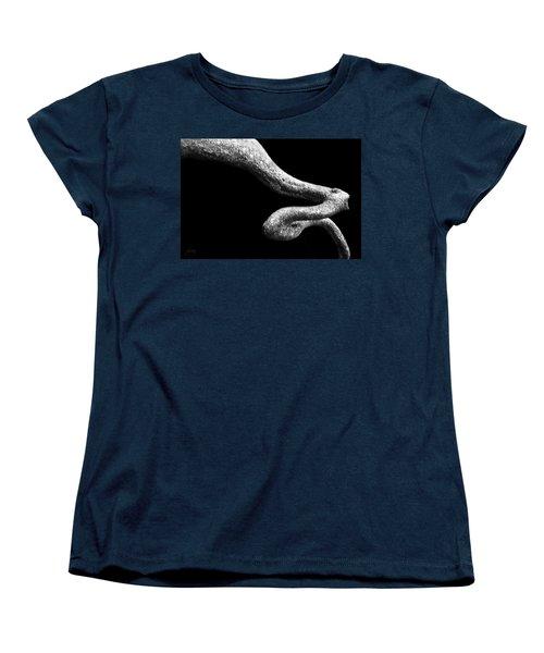 Women's T-Shirt (Standard Cut) featuring the photograph Earth Capillary by Joseph Westrupp