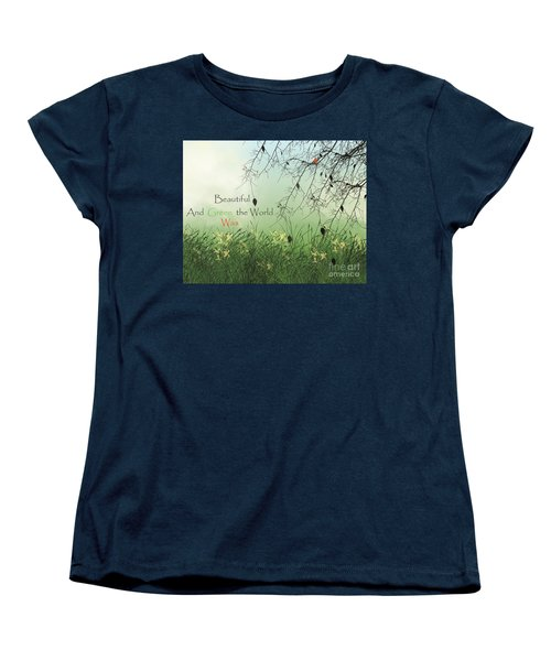 Earth Day 2016 Women's T-Shirt (Standard Cut) by Trilby Cole