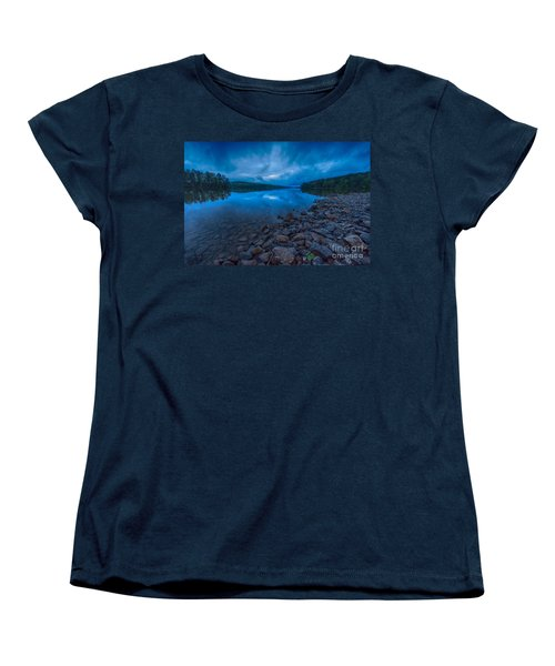 Earth Day Rain At The Tatoe Hole  Women's T-Shirt (Standard Cut) by Robert Loe