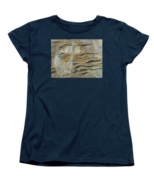 Women's T-Shirt (Standard Cut) featuring the photograph Earth Memories-sleeping River # 2 by Ed Hall