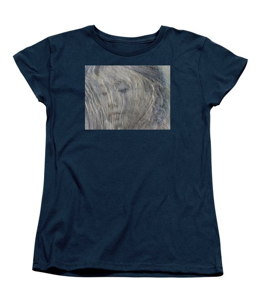 Women's T-Shirt (Standard Cut) featuring the photograph Earth Memories - Sleeping River # 3 by Ed Hall