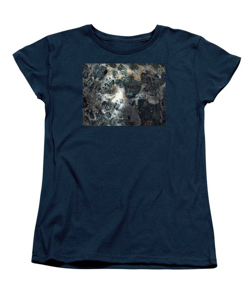 Women's T-Shirt (Standard Cut) featuring the photograph Earth Memories - Stone # 8 by Ed Hall