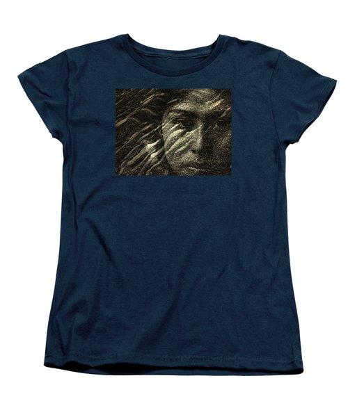 Women's T-Shirt (Standard Cut) featuring the photograph Earth Memories - Water Spirit by Ed Hall