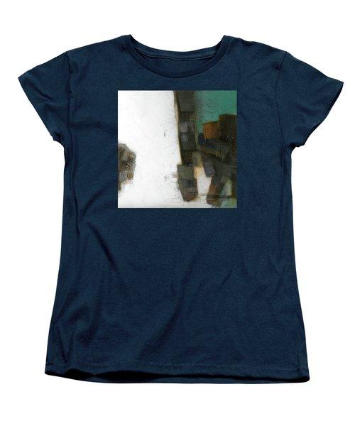 Earth Pattern Women's T-Shirt (Standard Cut) by Behzad Sohrabi