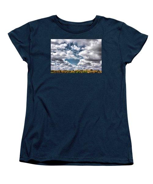 Earthbound - Live Oak Texas Women's T-Shirt (Standard Cut) by Wendy J St Christopher