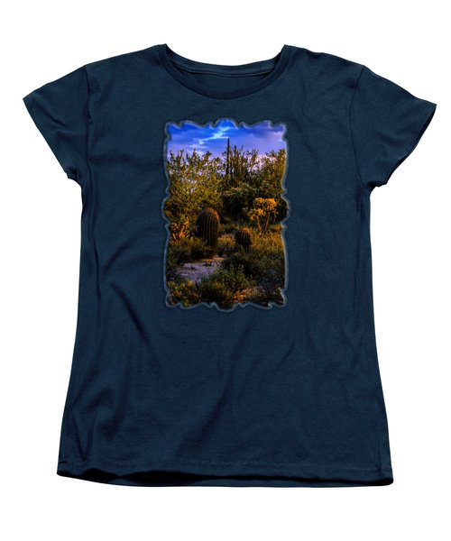 East Of Sunset V40 Women's T-Shirt (Standard Cut) by Mark Myhaver