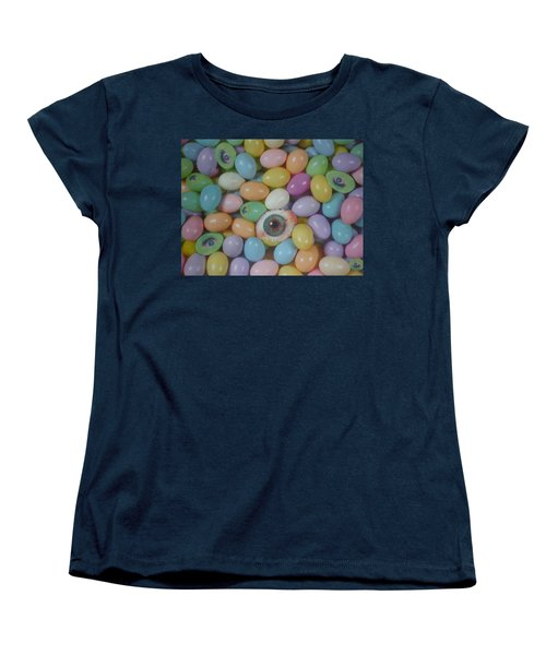 Easter Eyes Women's T-Shirt (Standard Cut) by Douglas Fromm