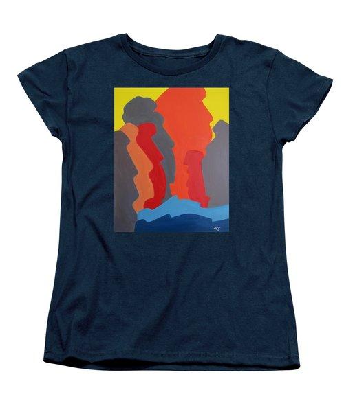 Easter Island Women's T-Shirt (Standard Cut) by Michael  TMAD Finney AKA MTEE