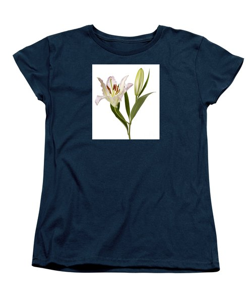 Easter Lilly Women's T-Shirt (Standard Cut) by Tony Cordoza