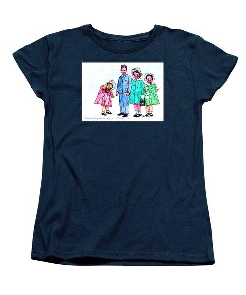 Easter Sunday - After Church Women's T-Shirt (Standard Cut)