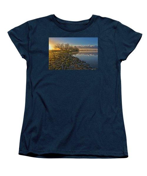 Easter Sunrise Women's T-Shirt (Standard Cut) by Frans Blok