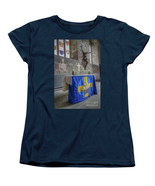 Women's T-Shirt (Standard Cut) featuring the photograph Easter  The Resurrection Of Jesus by Ian Mitchell