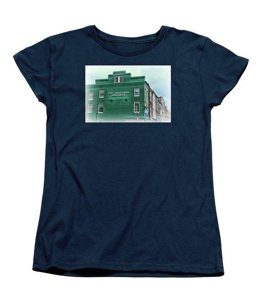 Women's T-Shirt (Standard Cut) featuring the photograph Eat Berthas Mussels  by Paul Ward