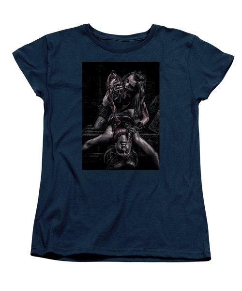 Eat Your Heart Out Women's T-Shirt (Standard Cut) by Wade Aiken