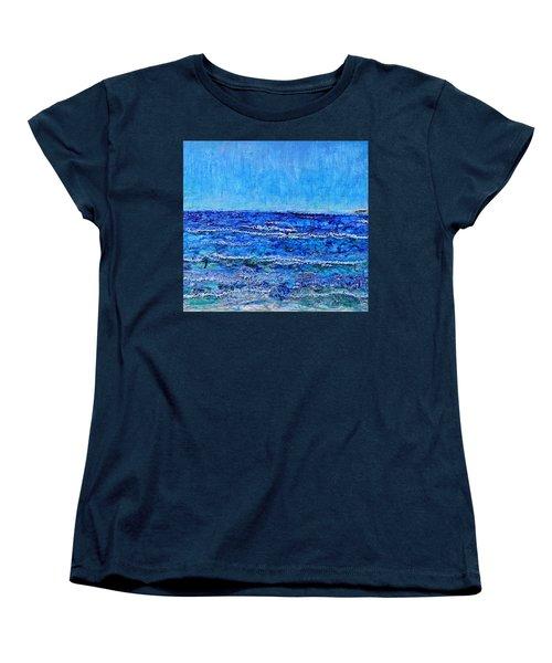 Ebbing Tide Women's T-Shirt (Standard Cut) by Regina Valluzzi