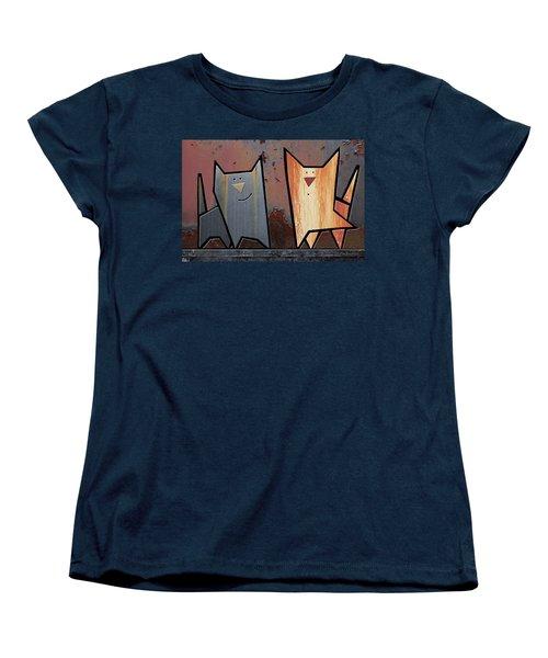 Eccentric Women's T-Shirt (Standard Cut) by Joan Ladendorf