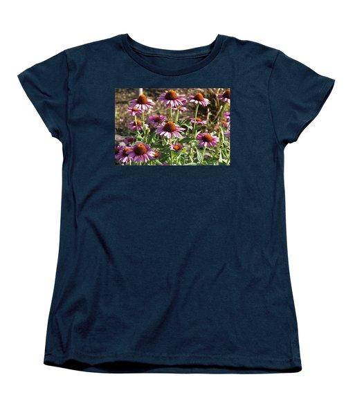 Echinacea Women's T-Shirt (Standard Cut) by Cynthia Powell