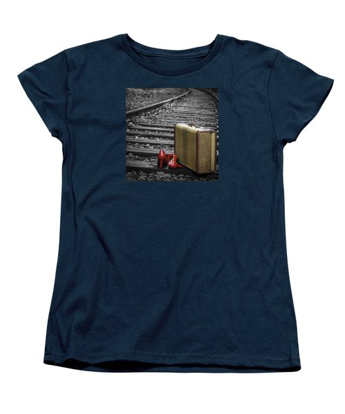 Echoes Of A Past Life Women's T-Shirt (Standard Cut) by Patrice Zinck
