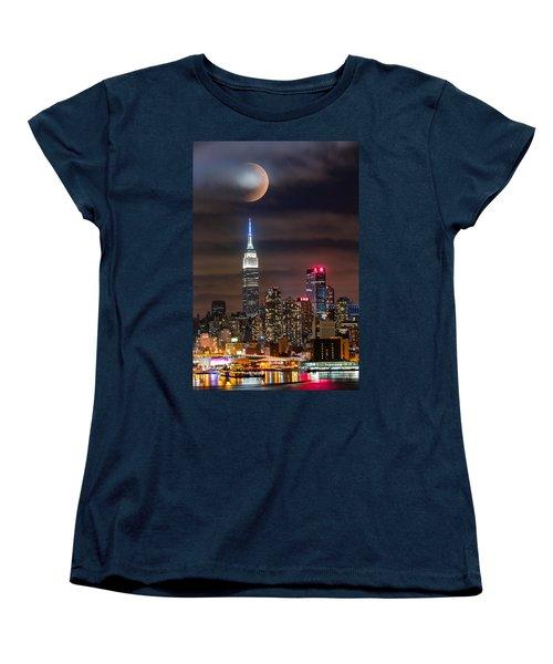 Eclipse Women's T-Shirt (Standard Cut) by Mihai Andritoiu