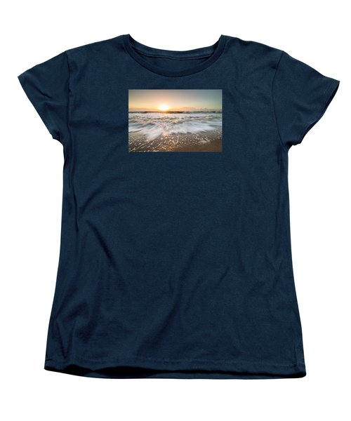 Edisto Island Sunrise Women's T-Shirt (Standard Cut) by Serge Skiba