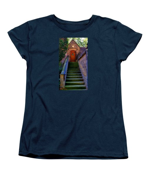 Women's T-Shirt (Standard Cut) featuring the photograph Edsel Ford Mansion by Michael Rucker