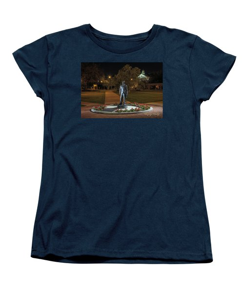 Women's T-Shirt (Standard Cut) featuring the photograph Edwin Stephens At Night by Gregory Daley  PPSA