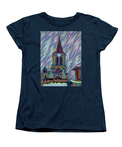 Eglise Onze - Onze Women's T-Shirt (Standard Cut) by Robert SORENSEN