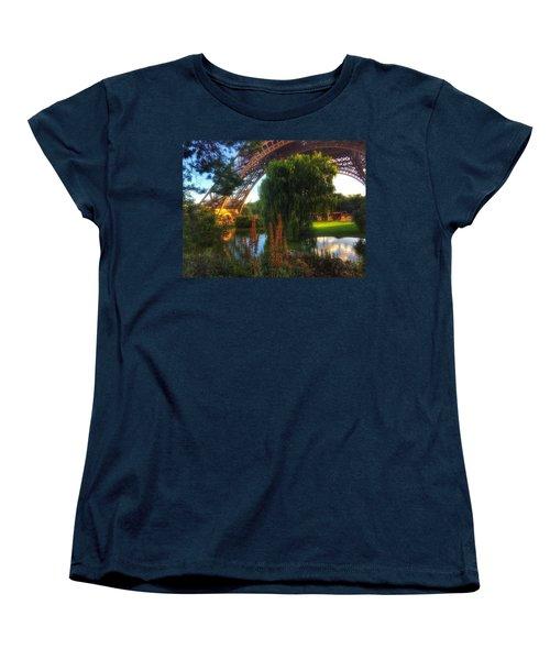 Eiffel Women's T-Shirt (Standard Cut) by Marty Cobcroft
