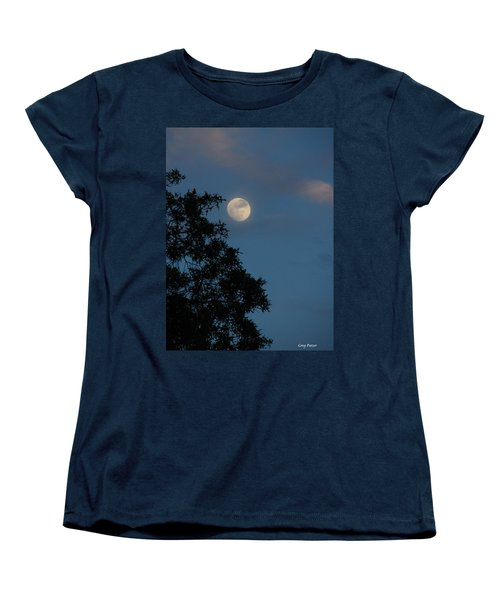 Women's T-Shirt (Standard Cut) featuring the photograph Eight Thirty Two Pm by Greg Patzer