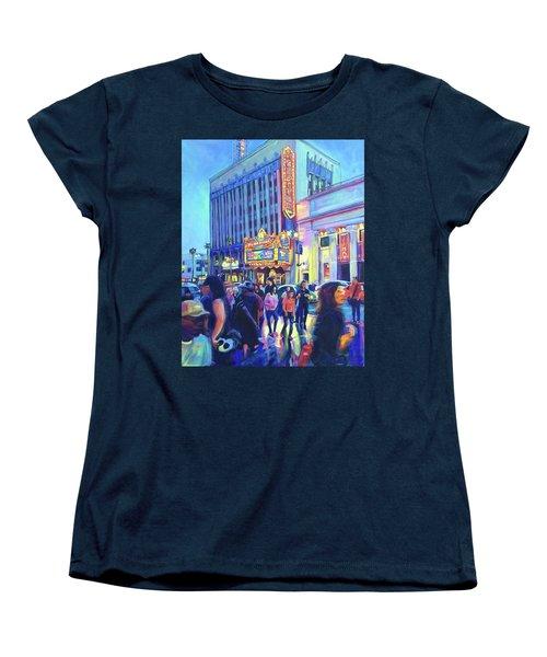El Capitan Women's T-Shirt (Standard Cut) by Bonnie Lambert