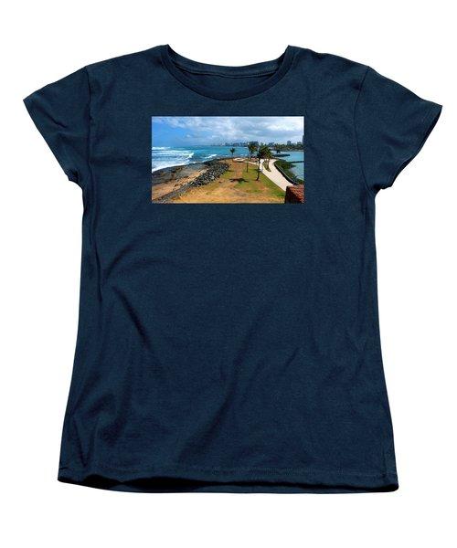 Women's T-Shirt (Standard Cut) featuring the photograph El Escambron by Ricardo J Ruiz de Porras