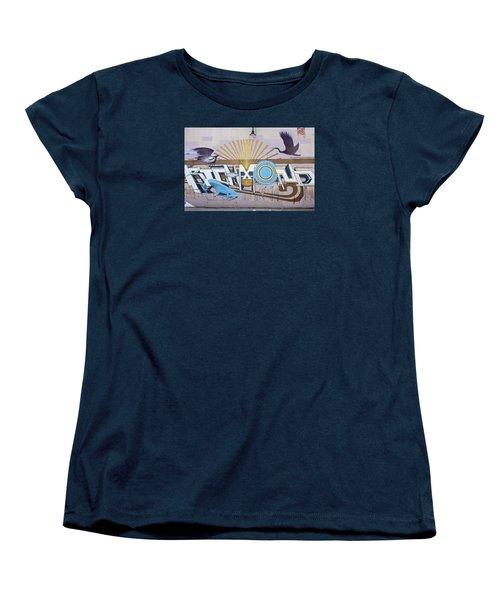 El Kamino Wild Mural Women's T-Shirt (Standard Cut) by Jean Haynes