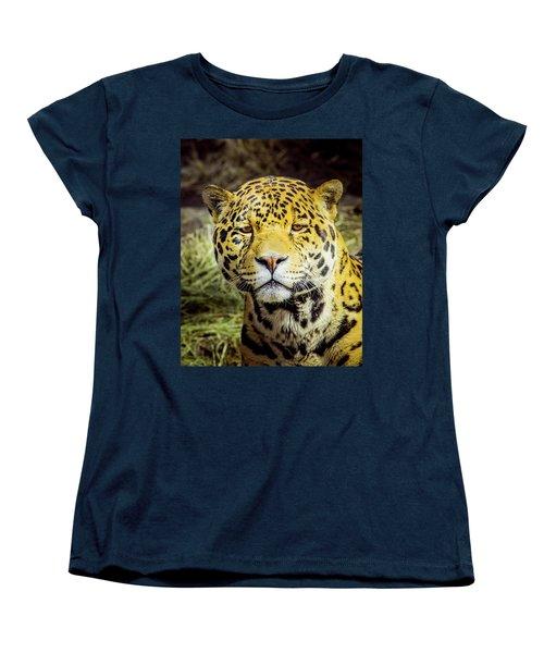 El Santo Women's T-Shirt (Standard Cut) by Janis Knight