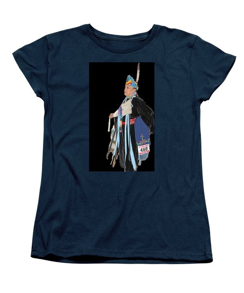 Elder Dancer Women's T-Shirt (Standard Cut) by Audrey Robillard