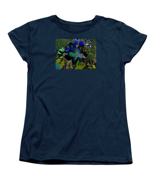 Women's T-Shirt (Standard Cut) featuring the photograph Electric Lily by Greg Patzer
