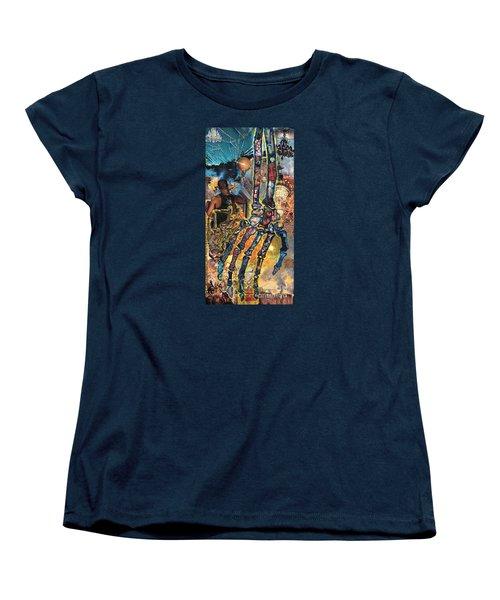 Electricity Hand La Mano Poderosa Women's T-Shirt (Standard Cut) by Emily McLaughlin