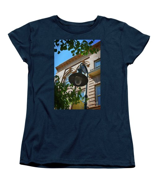 Women's T-Shirt (Standard Cut) featuring the photograph Electrifying  Architecture by Skip Willits