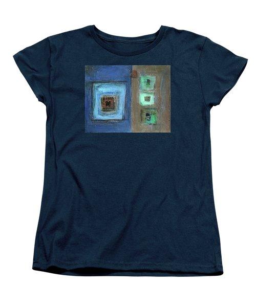 Elements Women's T-Shirt (Standard Cut) by Behzad Sohrabi
