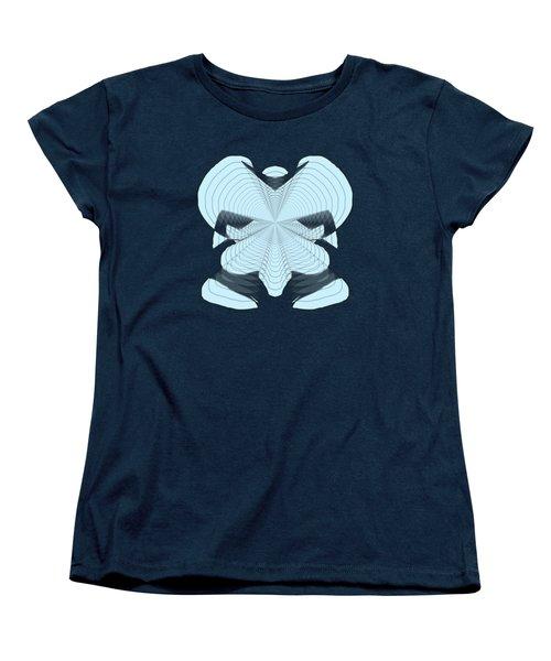 Elephant In The Room Women's T-Shirt (Standard Cut) by Cathy Harper