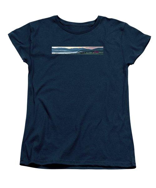 Elk River Fog At Sunrise Women's T-Shirt (Standard Cut)