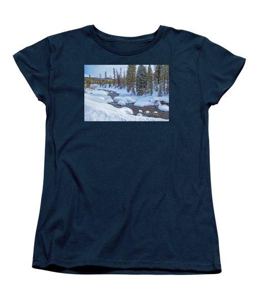 Elk River Women's T-Shirt (Standard Cut) by Sean Allen