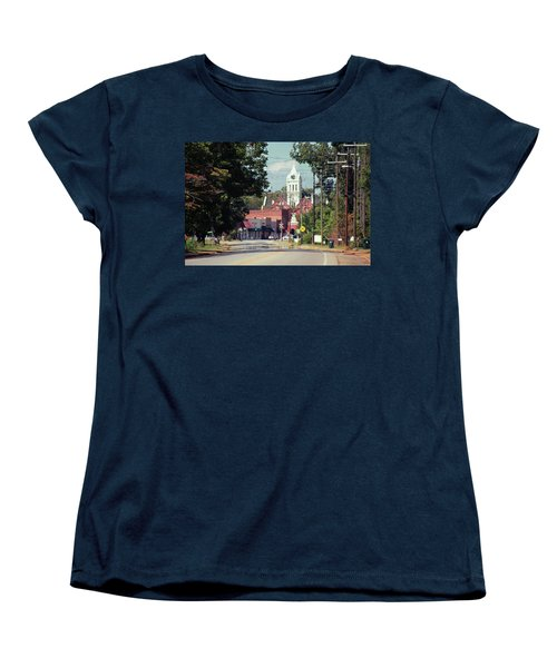 Women's T-Shirt (Standard Cut) featuring the photograph Ellaville, Ga - 2 by Jerry Battle