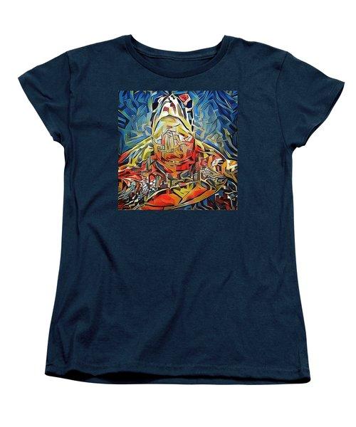 Ellis The Turtle Women's T-Shirt (Standard Cut) by Erika Swartzkopf