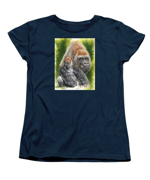 Women's T-Shirt (Standard Cut) featuring the painting Eloquent by Barbara Keith