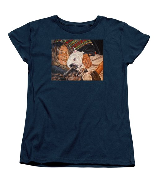 Elvis And Friend Women's T-Shirt (Standard Cut) by Bryan Bustard