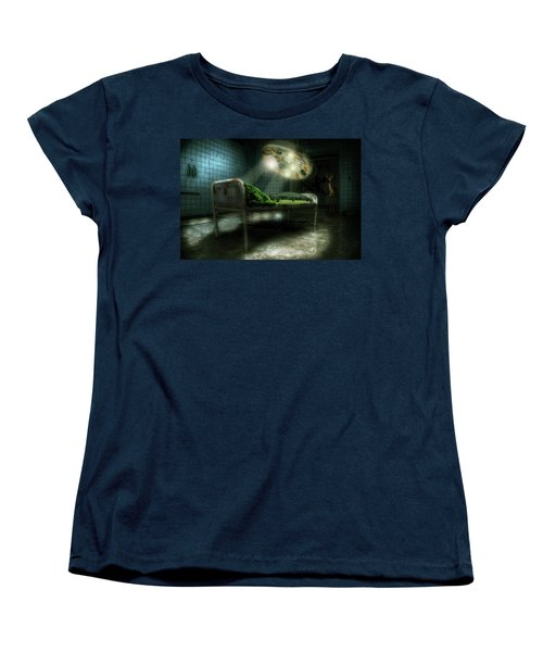 Women's T-Shirt (Standard Cut) featuring the digital art Emergency Nature  by Nathan Wright