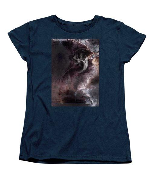 Emergent 1b - Textured Women's T-Shirt (Standard Cut) by Paul Davenport